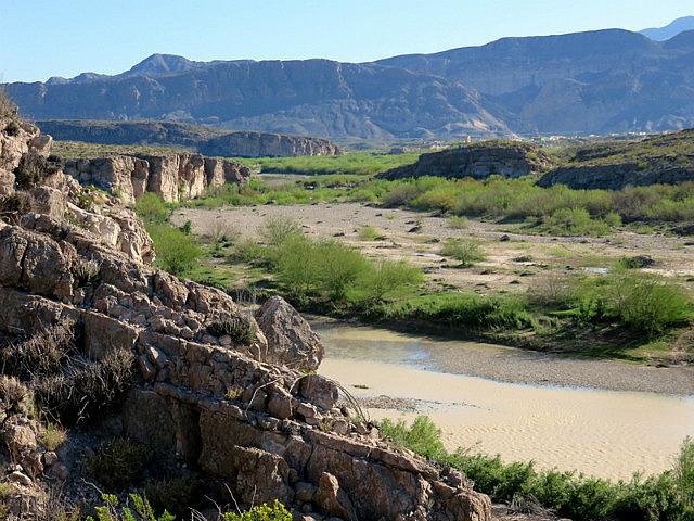 Rio Grande view toward Boquillas, Mexico