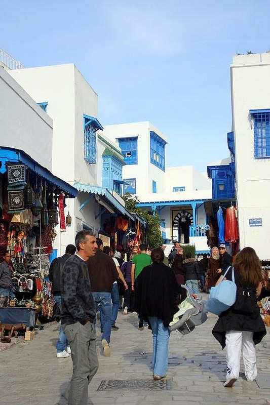 Sidi Bou Said Merchants