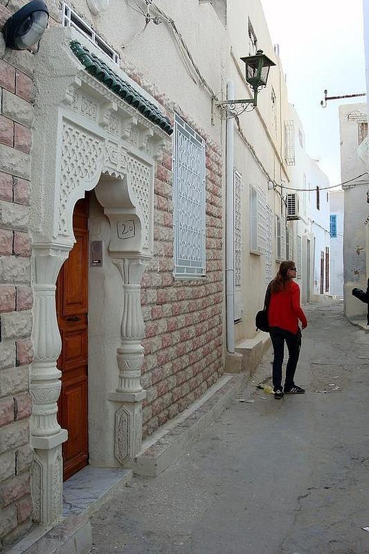 Kairouan Souk Walkway