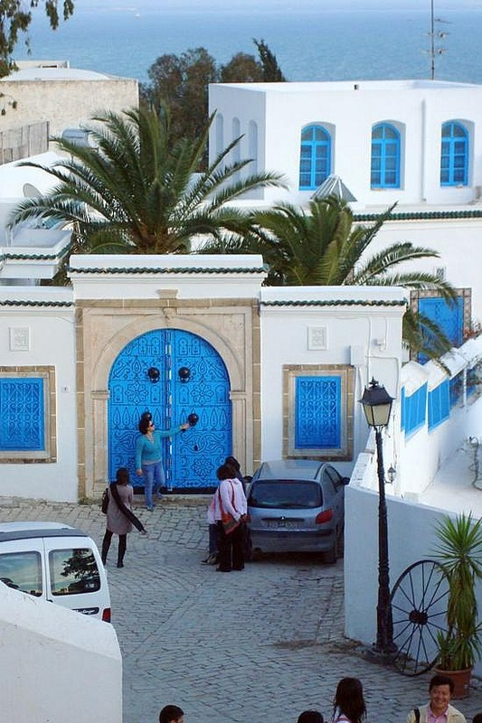 Sidi Bou Said Famous Door
