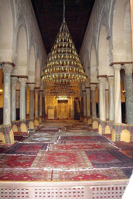 Mosque Center View