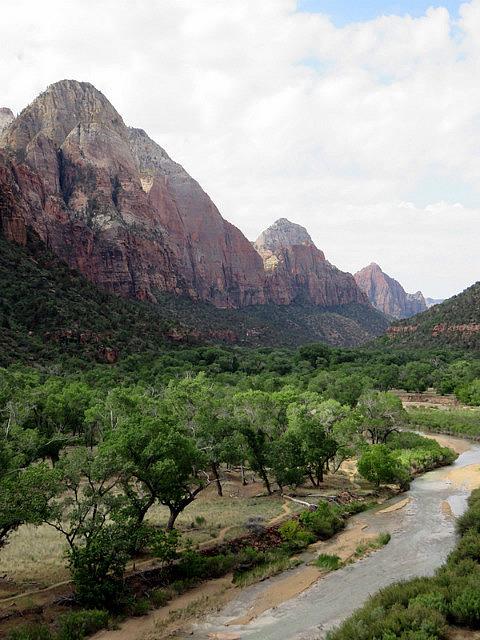 Down the canyon views