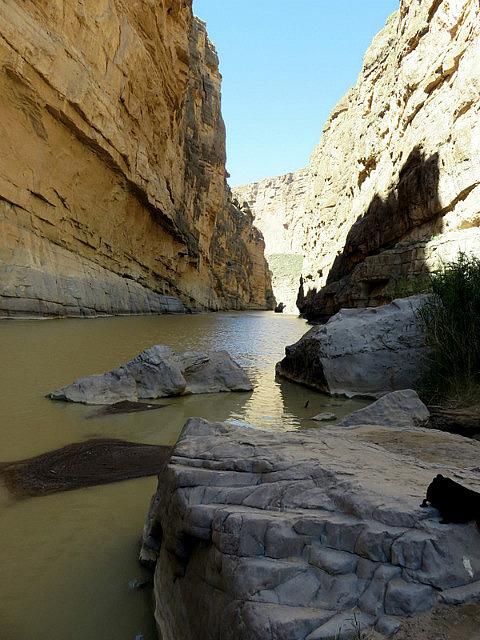 Rio Grande in Canyon