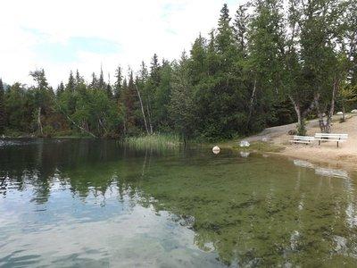 Eleanor Lake, Blue River