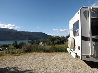 View from Kekuli campsite
