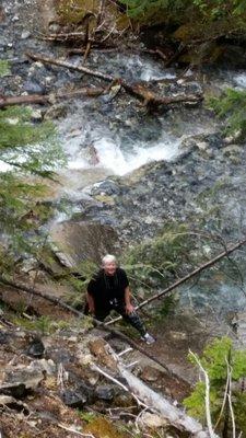Me at the bottom of Hamilton Falls