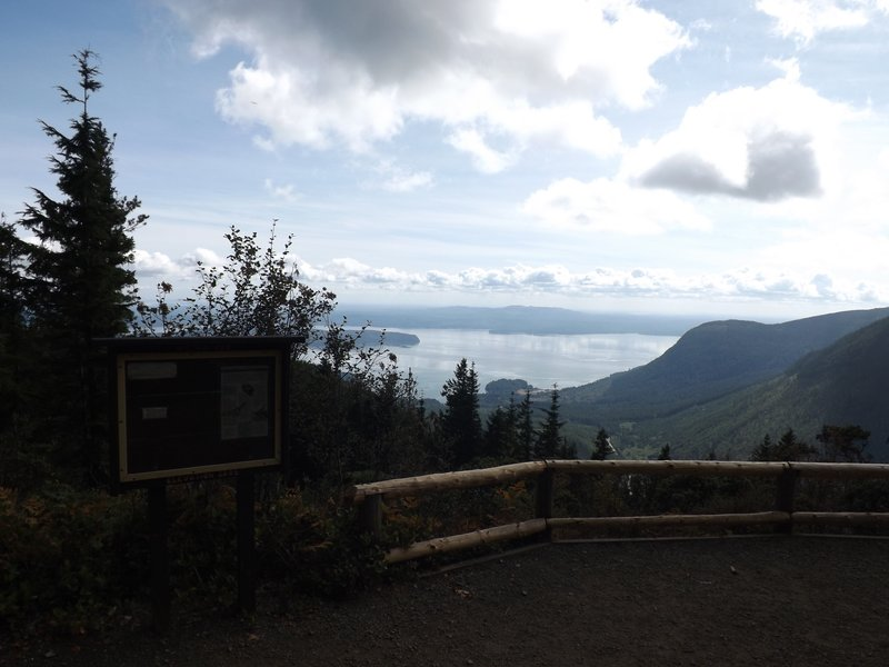 View to the south from Mt. Walker lookout