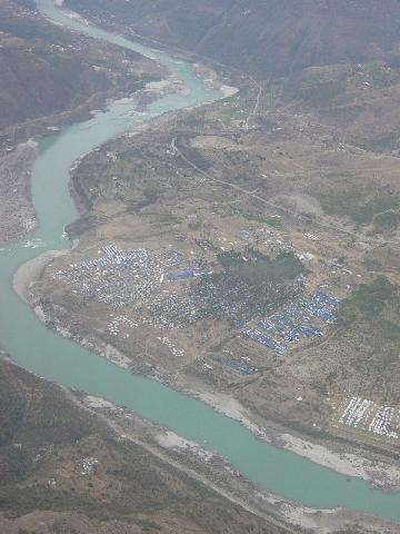 Halliy View of Relife Camp in Mahar (NWFP)