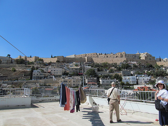 Walls of Old City from Silwan roof