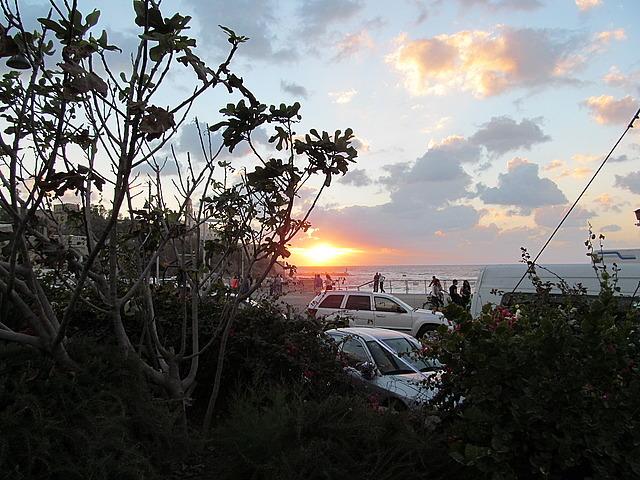 Sunset at Jaffa