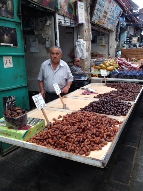 Dates at Mahne Yehuda Market
