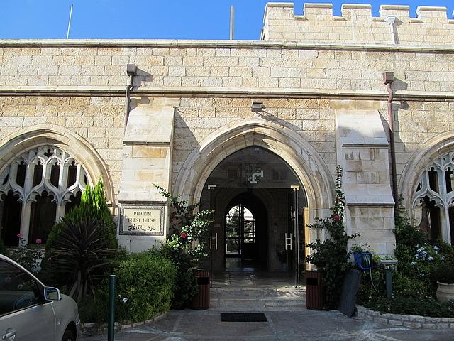 Entrance to Pilgrim Guest House