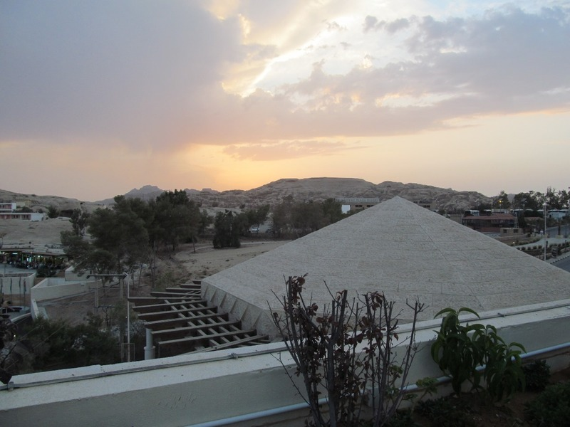 View from Roof Garden at Movenpick Hotel