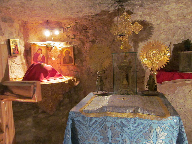 """""""Leper Cave"""" at the Church of Ten Lepers"""