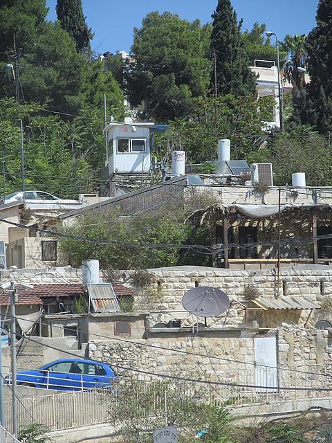 Guard house in Sheikh Jarrah