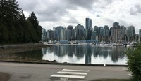 City from Stanley Park