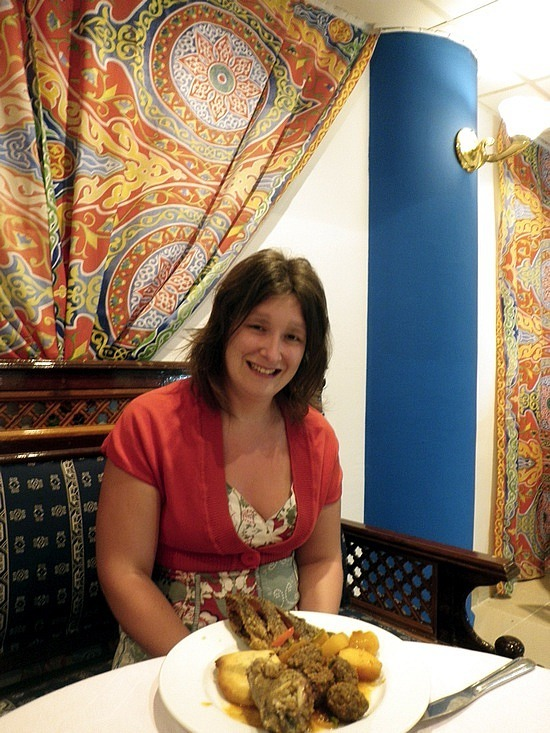 Egyptian food on the all inclusive