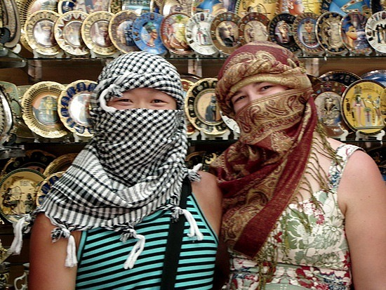 Not buying things in Old Sharm