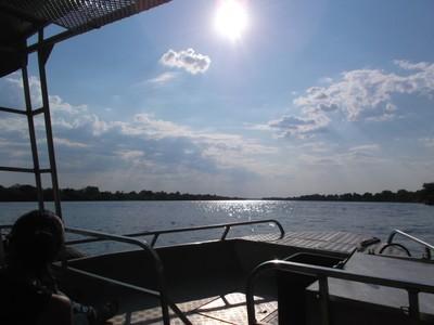 Zambezi boat trip