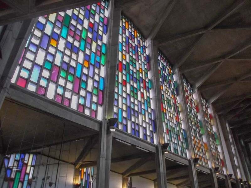 Stained glass Lusaka Anglican Cathedral