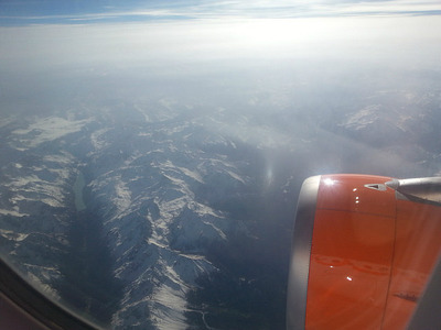 Views over the Alps