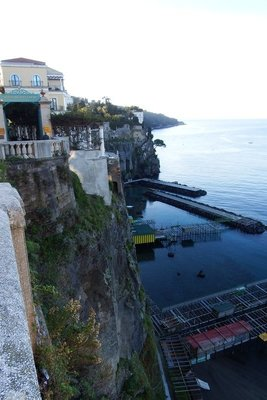 Cliffs on the Bay of Naples