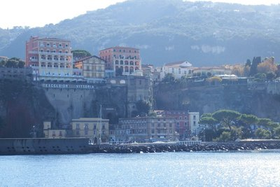 Sorrento from the ferry