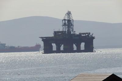 Oil Rig in Scapa Flow