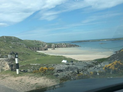 Some of the beaches en route
