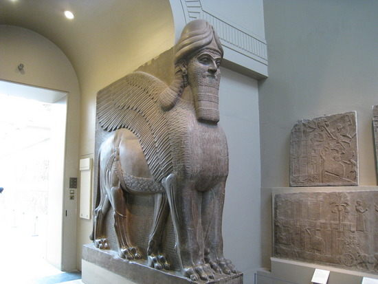 Assyrian guard, British Museum