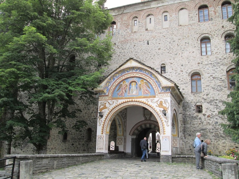 One of the monastery gates