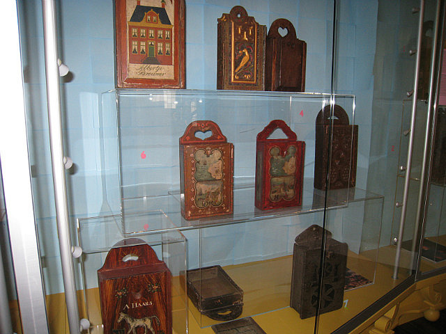 18th and 19th century school boxes