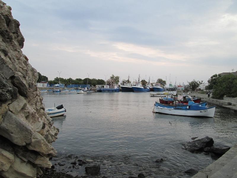 Small harbor in Nesebar