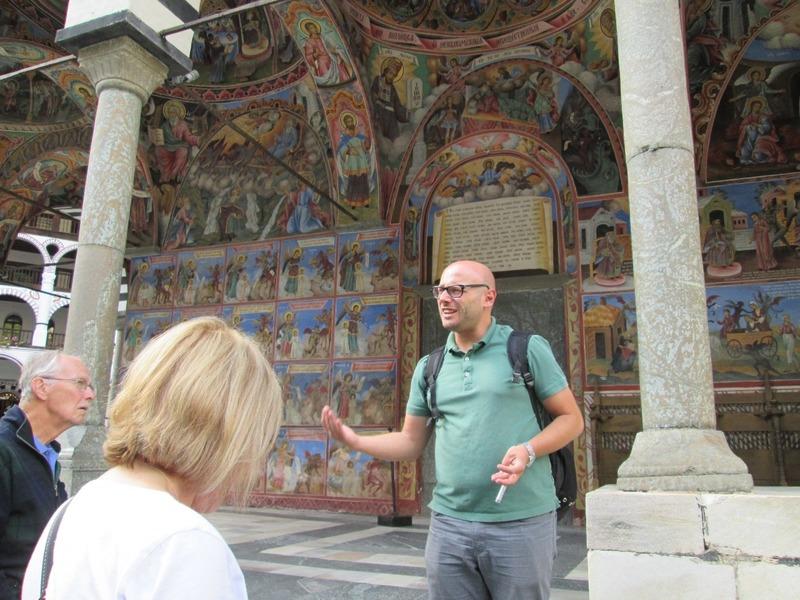 Stefan talks about the frescos