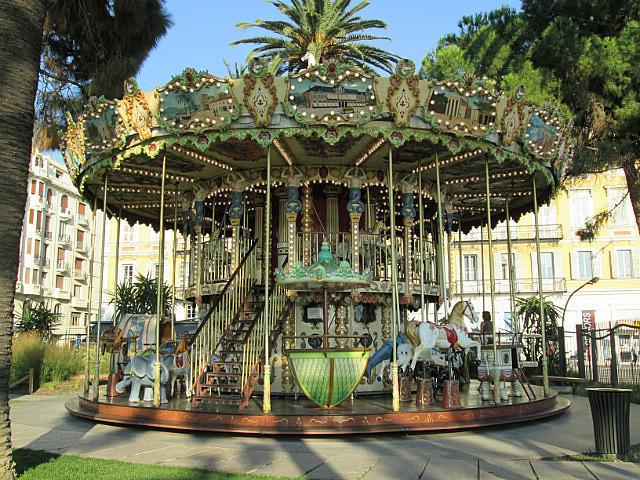 Pretty little carousel