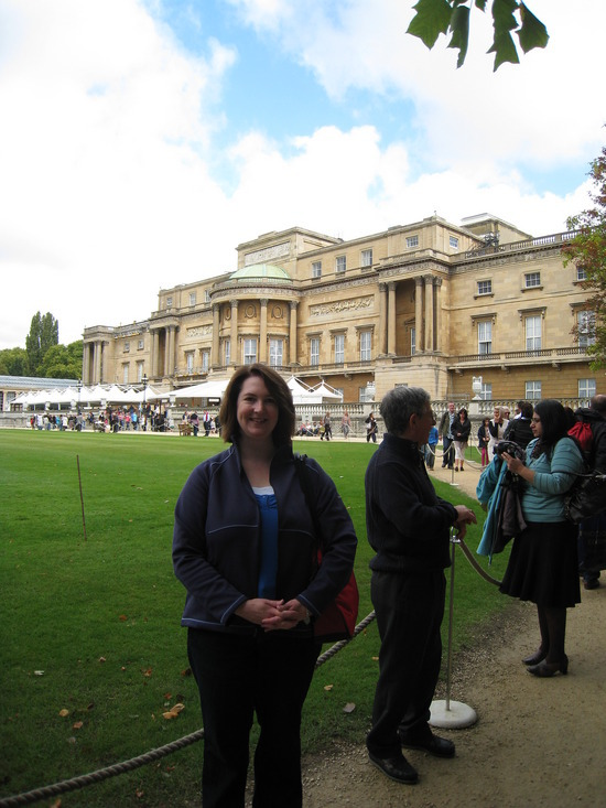 Me at Buckingham Palace