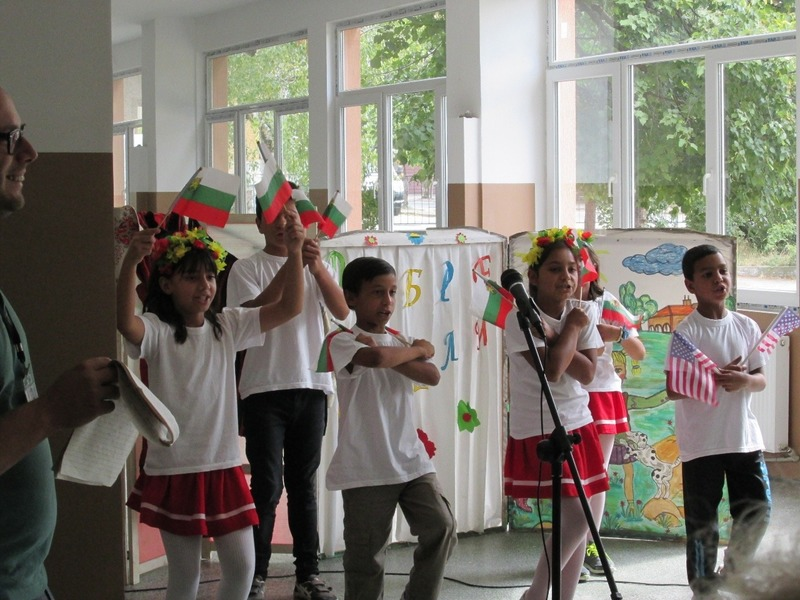 The children in Dupnitsa
