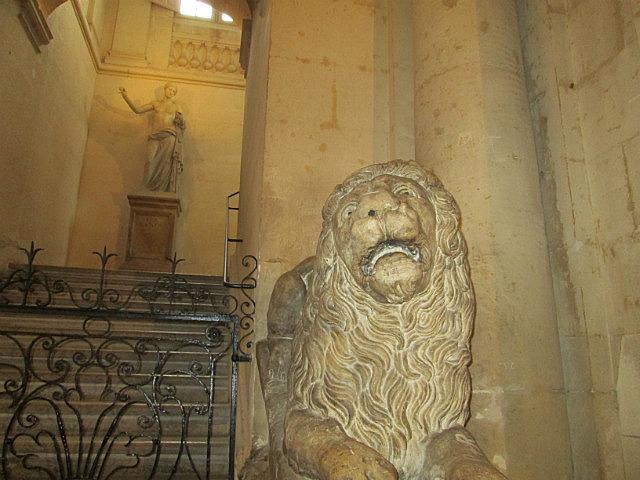 Lion in the Hotel de Ville