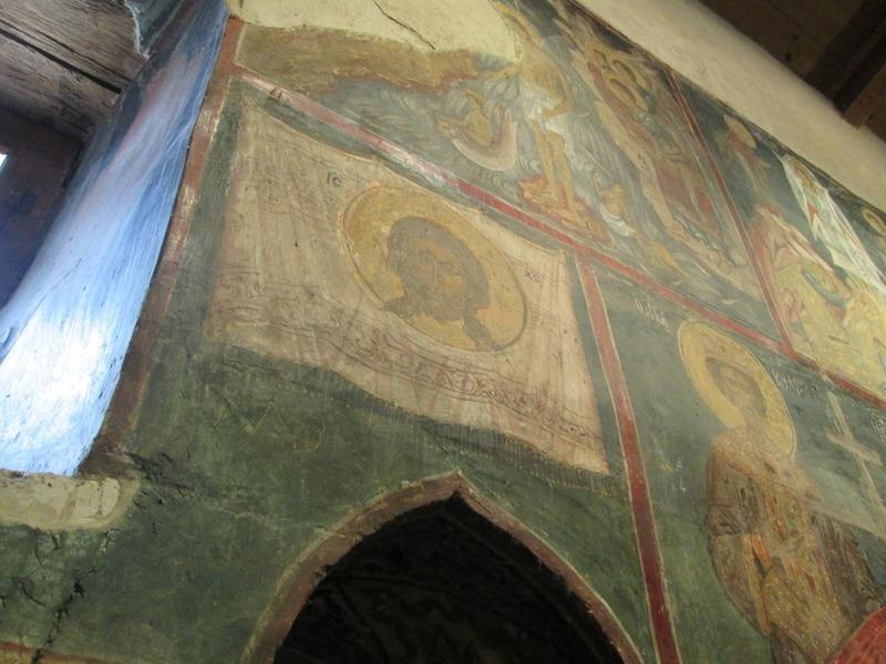 Fresco of the first icon