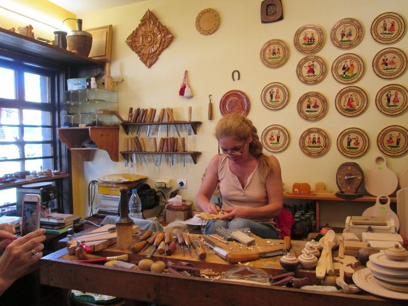 Rumi the woodcarver