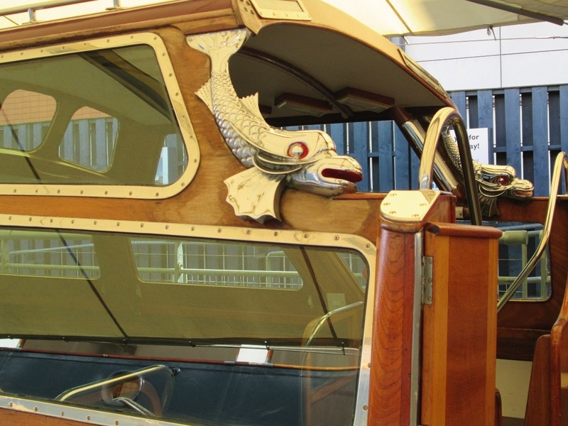 Detail on the Royal Barge