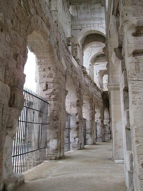 Inside the Roman Arena