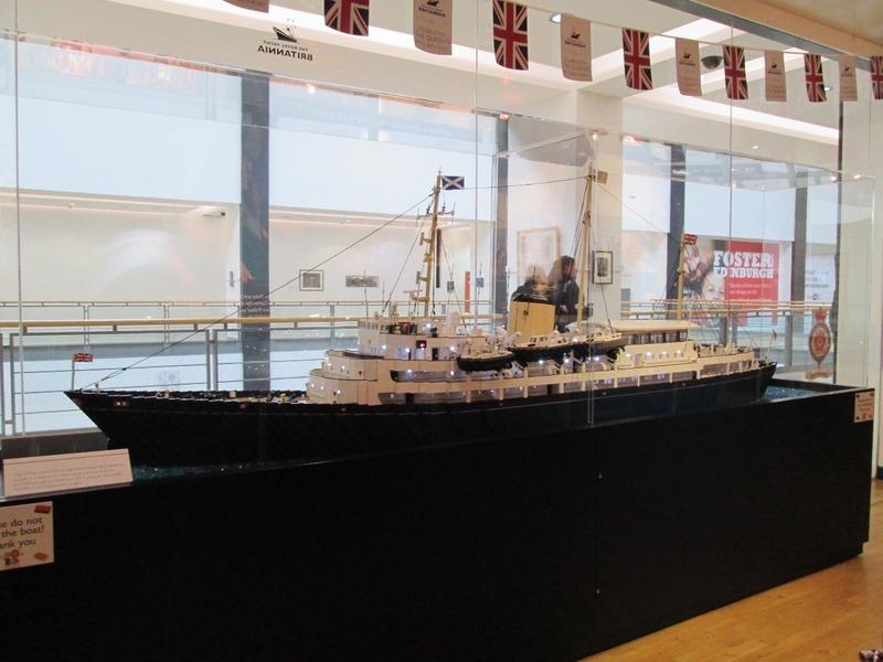 Lego model of Britannia