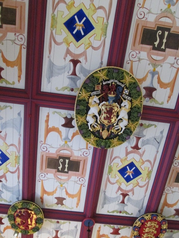 Another ceiling in Stirling Castle