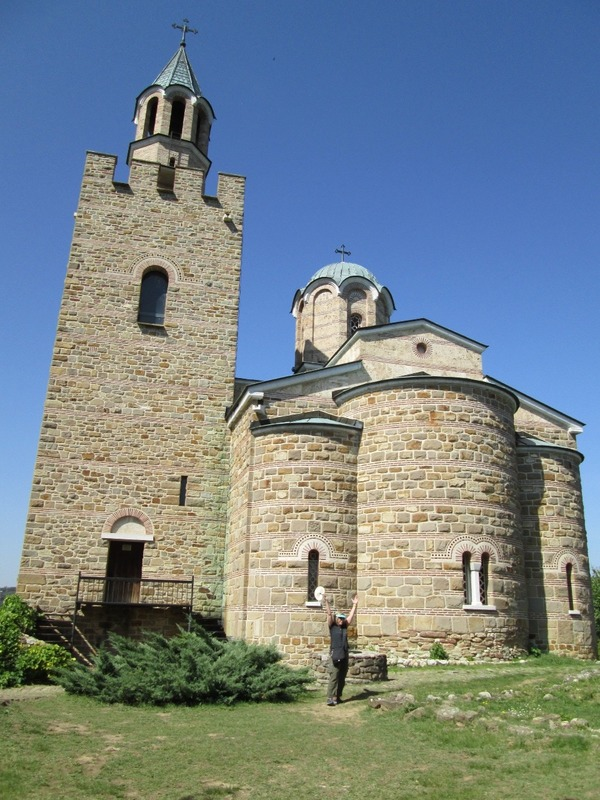 The church at Tsarevets Fortress
