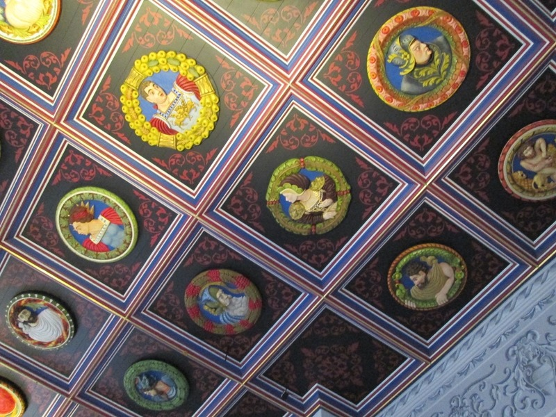 Ceiling in Stirling Castle