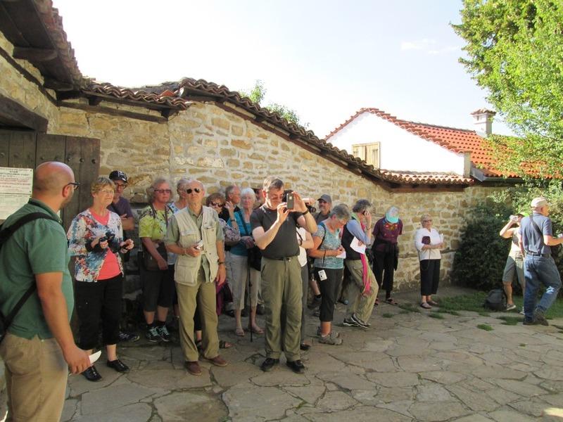 The group in front of Konstantsalieva House