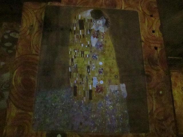 """The Kiss"" by Klimt"
