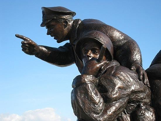 Navy Memorial at Utah Beach