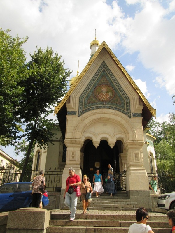 Front of the Russian church